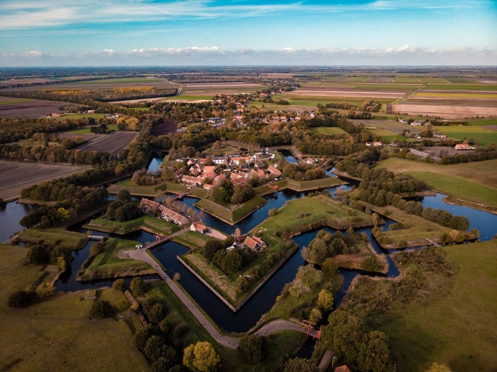 Bourtange-fortress - star forts