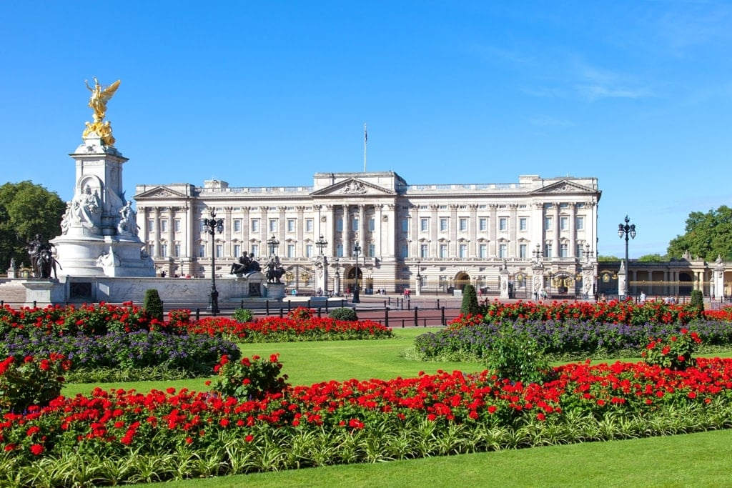 Buckingham Palace - British Royal Residences