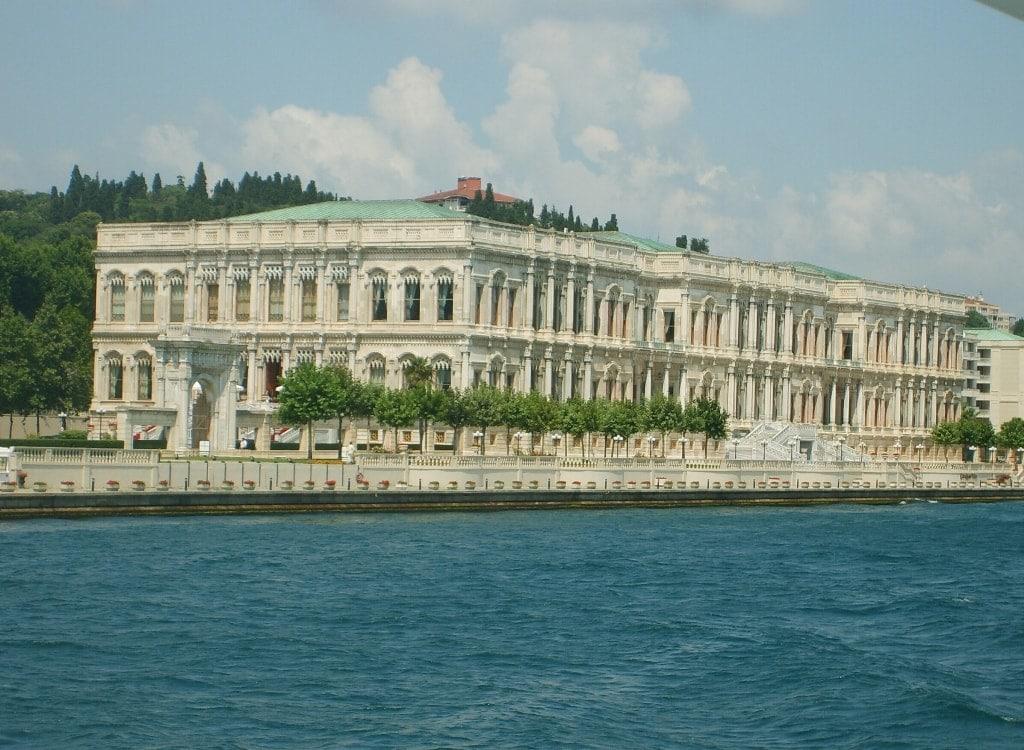 Cıragan Palace Kempinski Besiktas sea