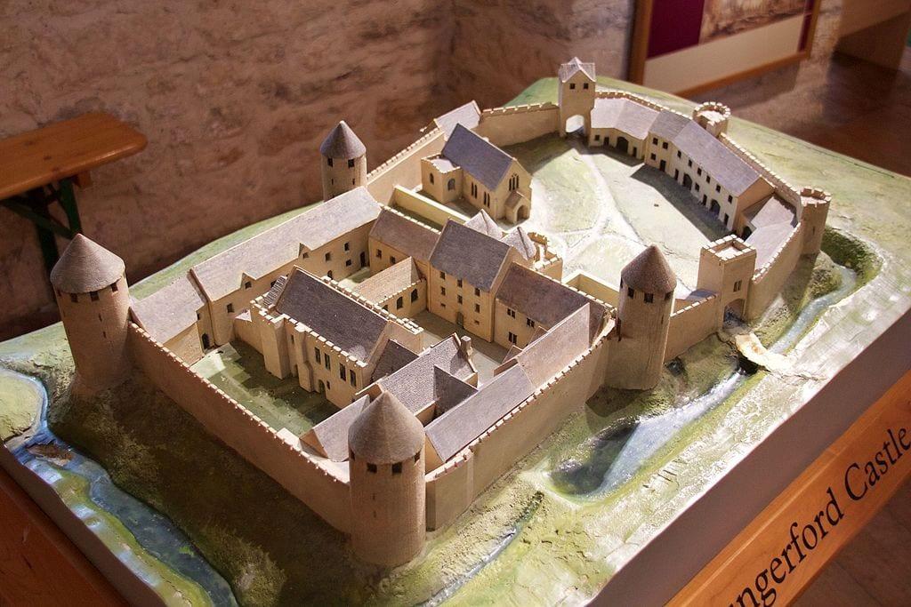 Medieval Castle Layout Historic European Castles