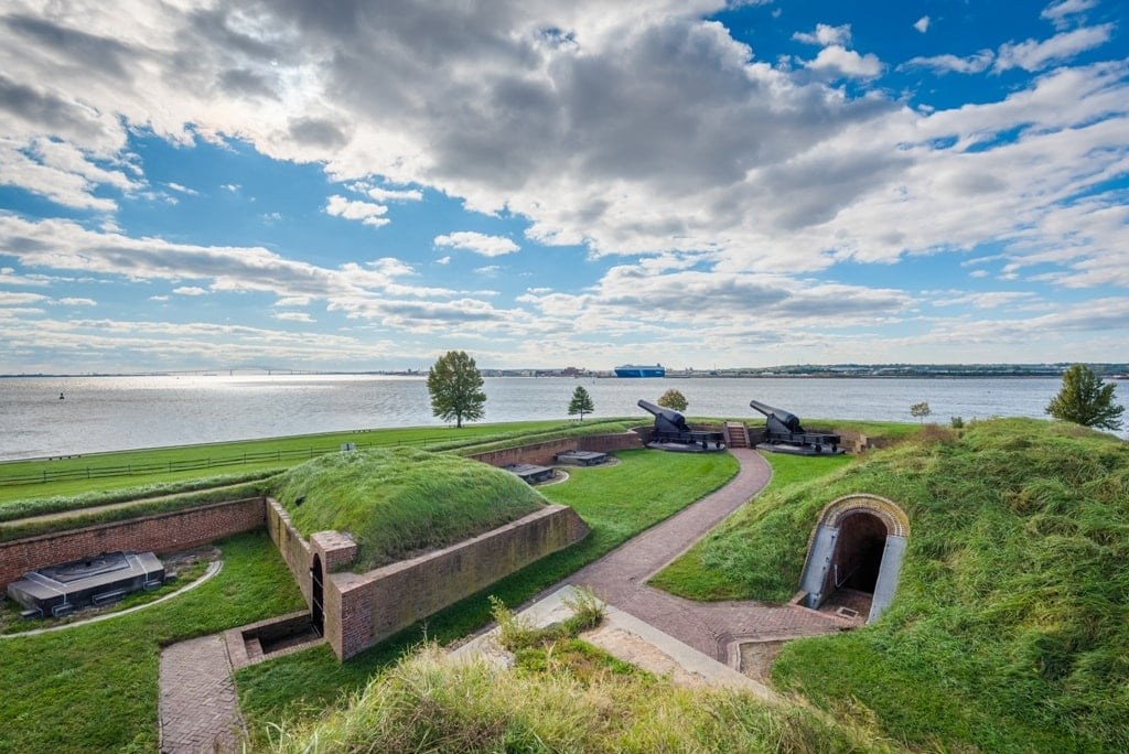 Fort McHenry - start forts