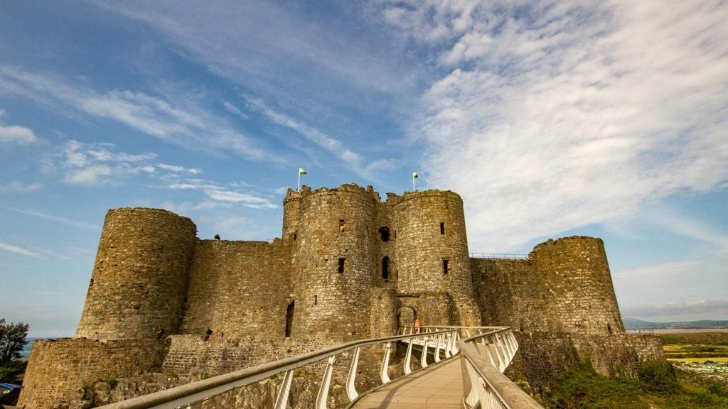 Harlech Castle Gatehoues