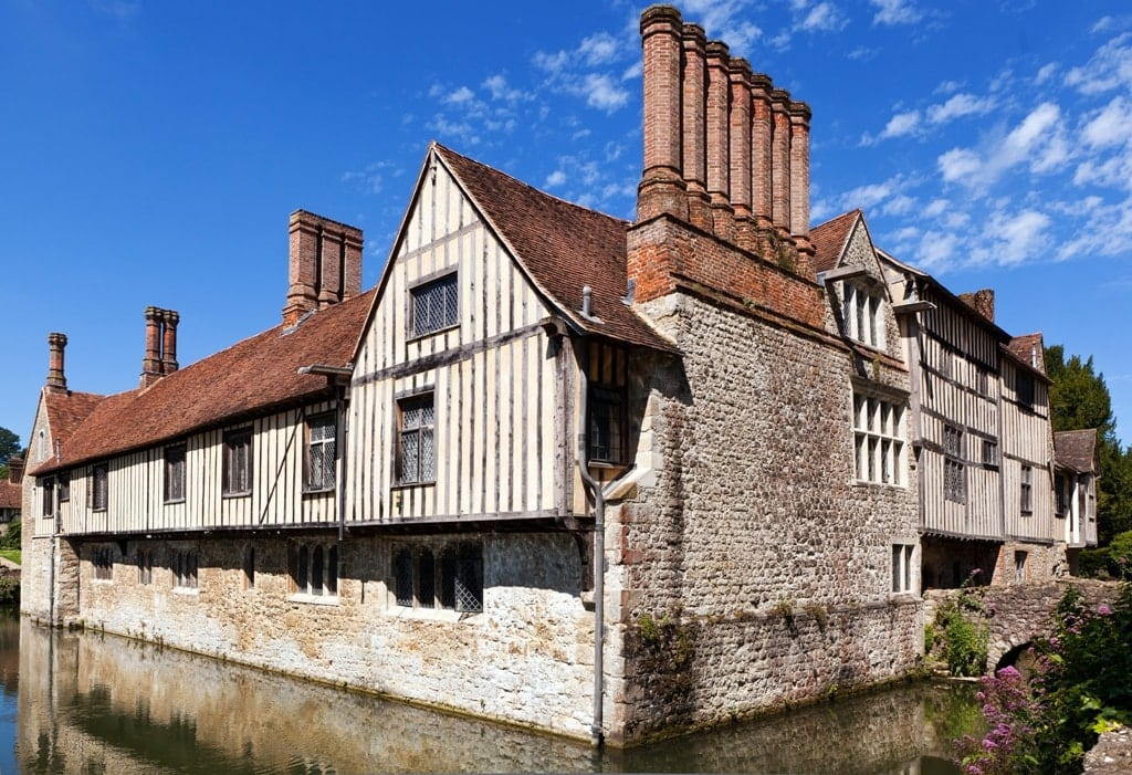 Ightham Mote- Medieval manor house in England