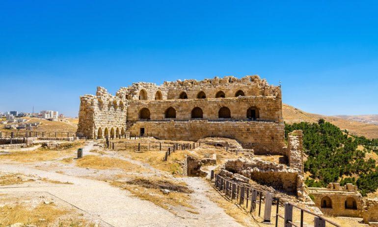 Karak Castle - Crusaders Castle in Jordan