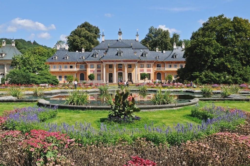 Pillnitz Castle in Saxony near Dresden, Germany (Europe)