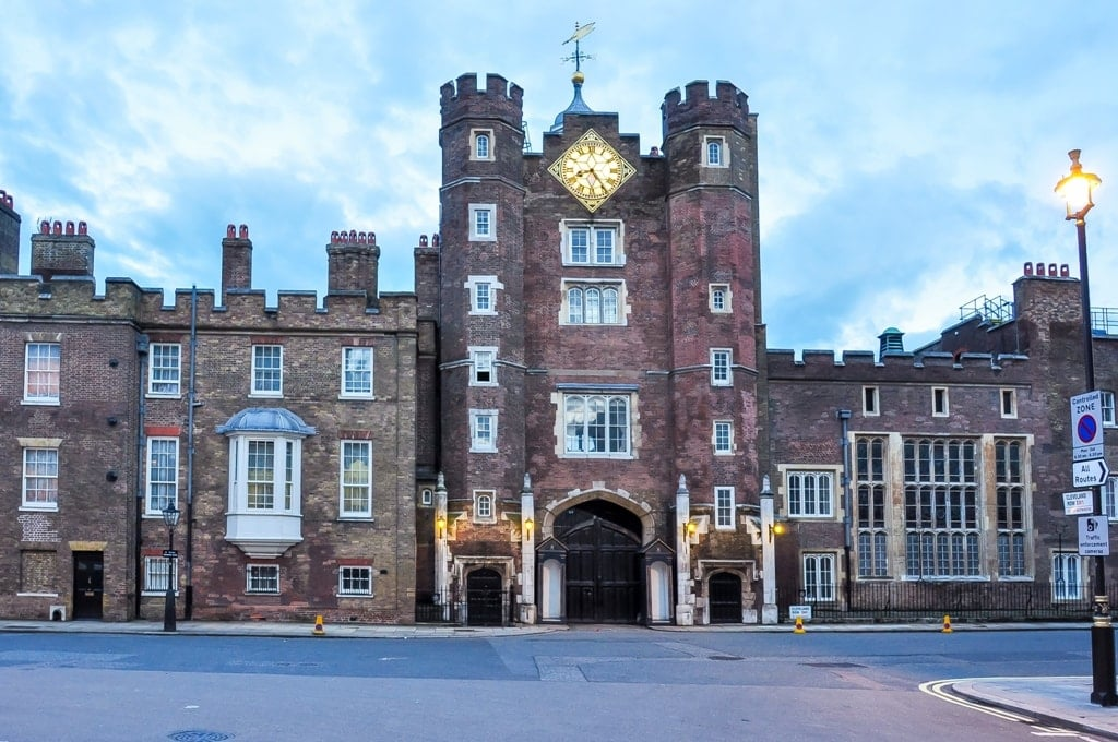 St. James's Palace - Royal Palaces in London
