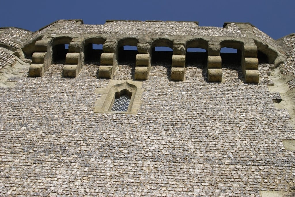 Murder Holes in Lewes Castle