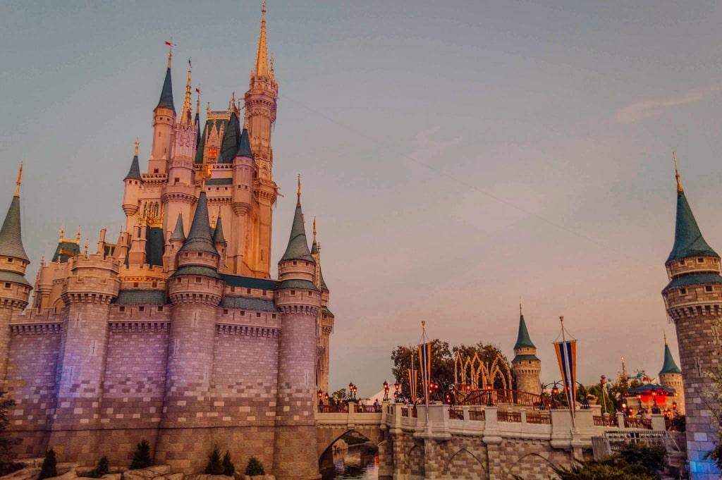Cinderella's Castle in Walt Disney World