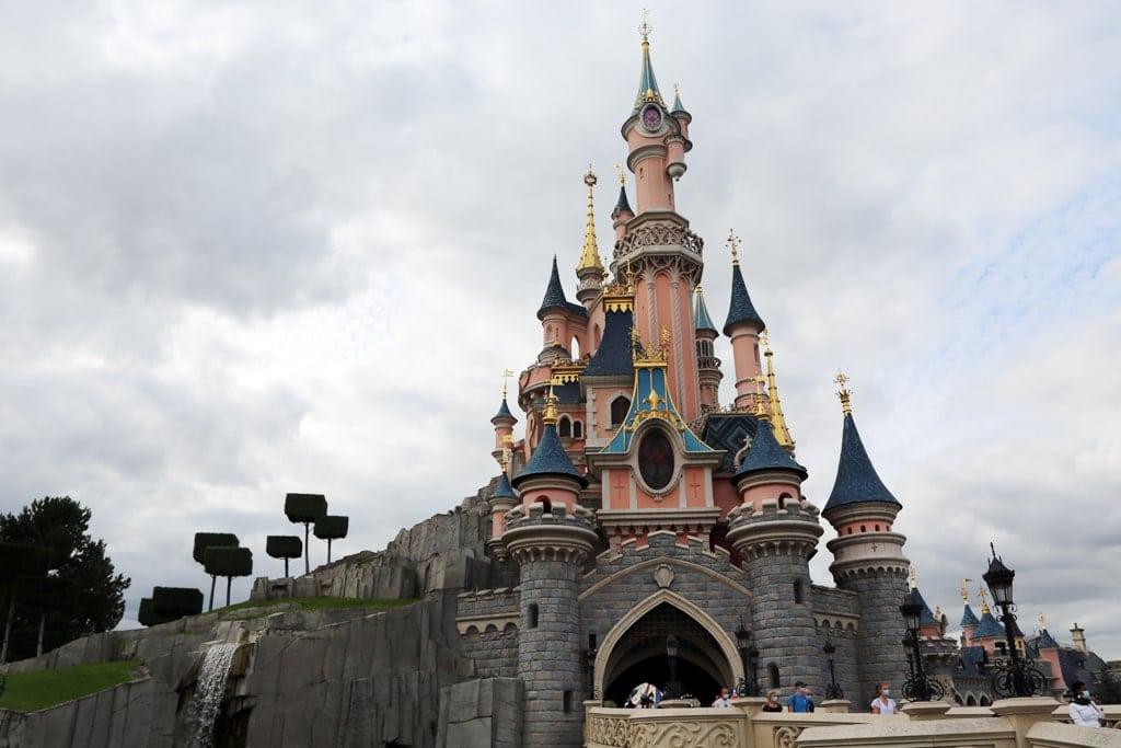 Disney Castle in Paris France