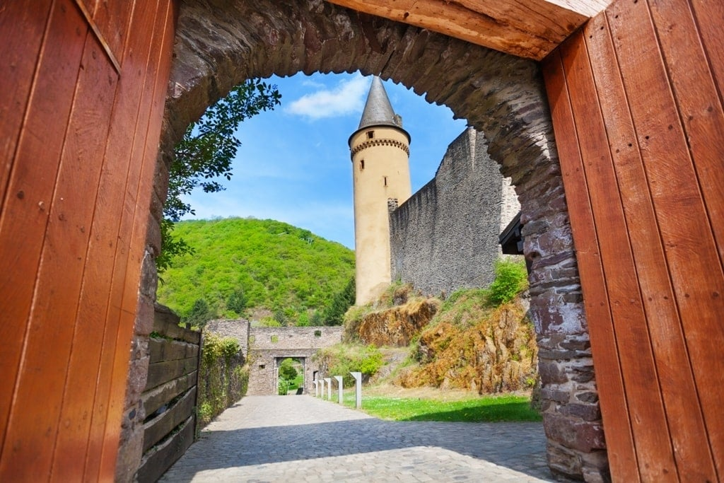 Gates of Vianden Castle