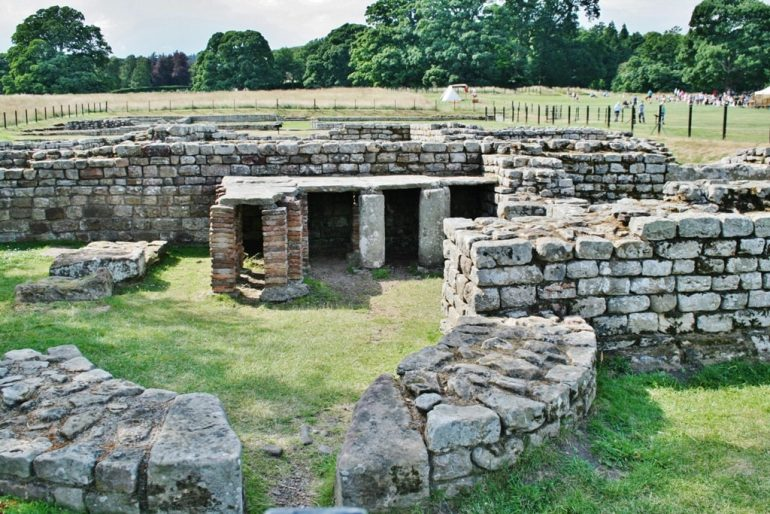 Hadrians Wall - Chesters Roman Fort