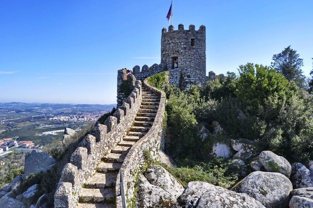 Moorish Castle, Sintra, Portugal -Best Castles in Sintra