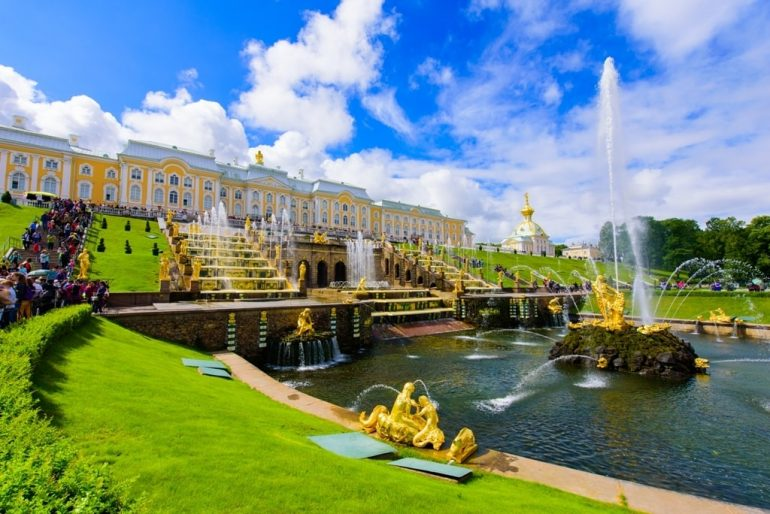 Peterhof Palace and Gardens