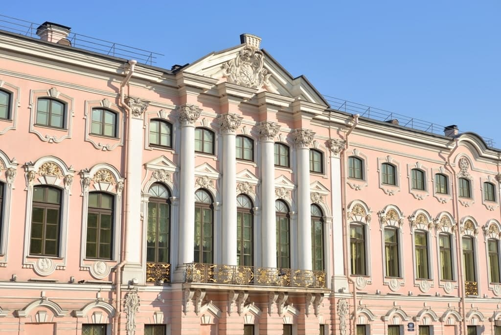 Stroganov Palace - Best places in St Petersburg