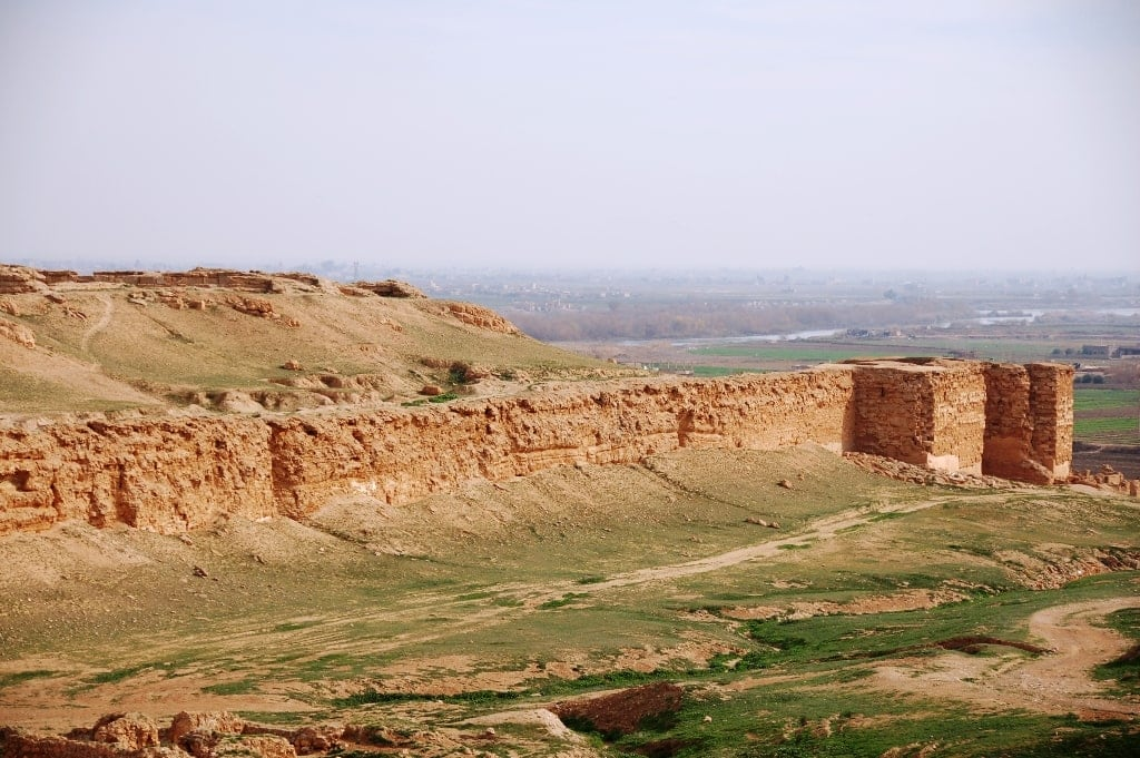 The old city of Dura Europos in Syria