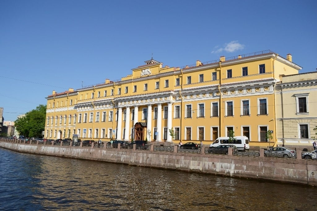 Yusupov Palace in St Petersburg
