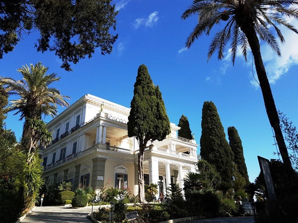 Achillion Palace in Corfu