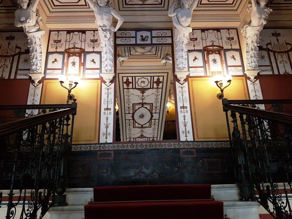 inside Achillion Palace