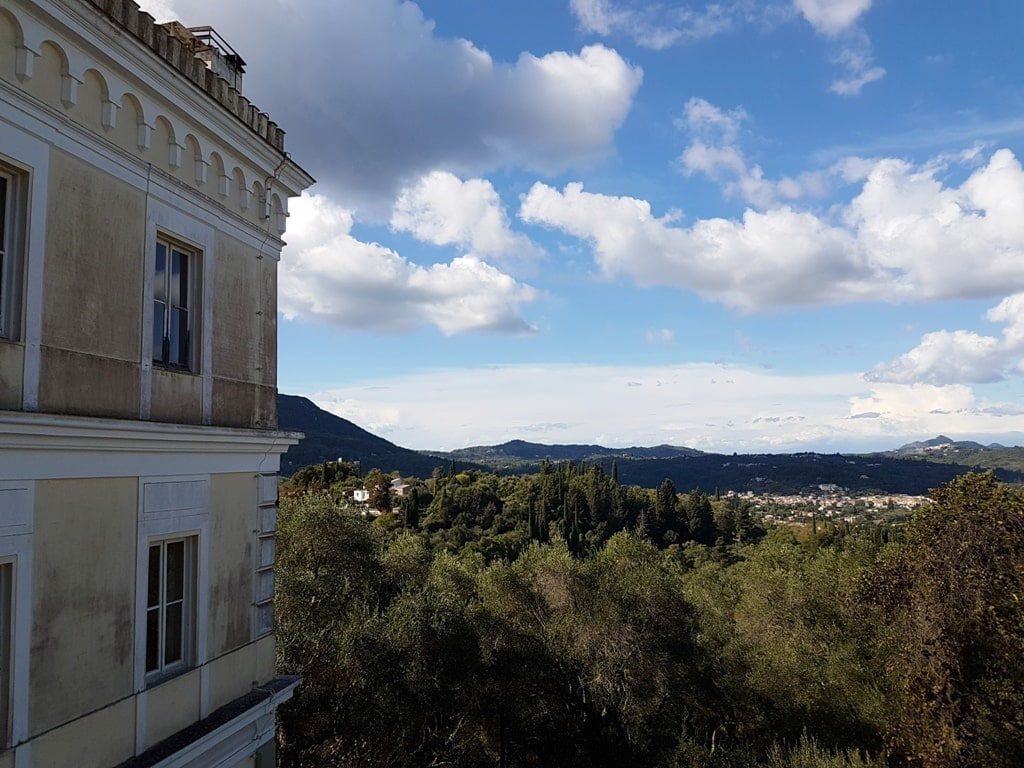 Achillion Palace view