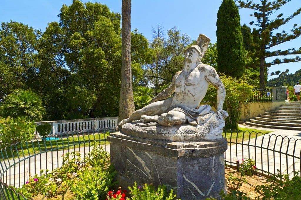 Dying Achilles - Sissi Palace Corfu