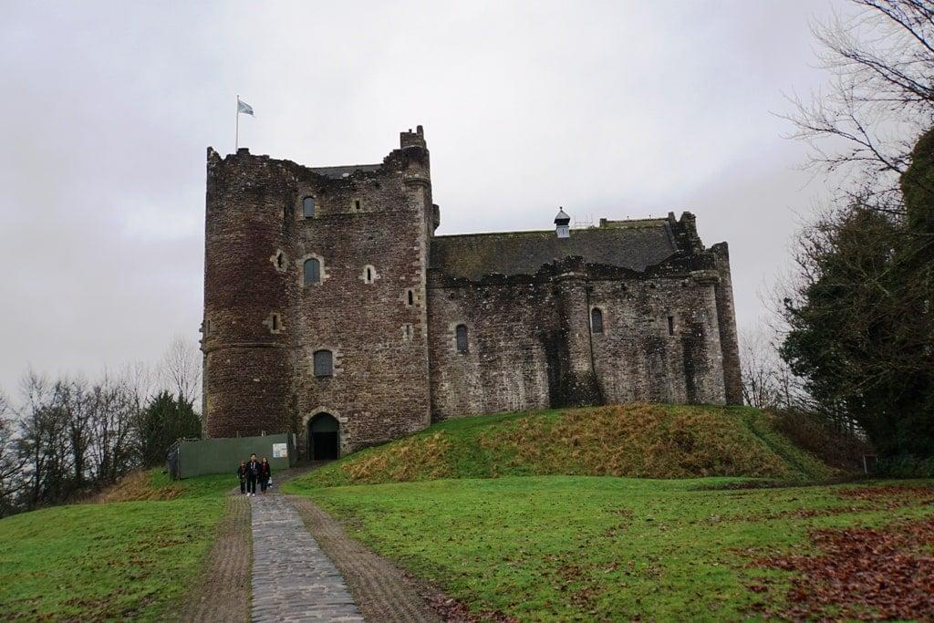 Doune Castle or Castle Leoch