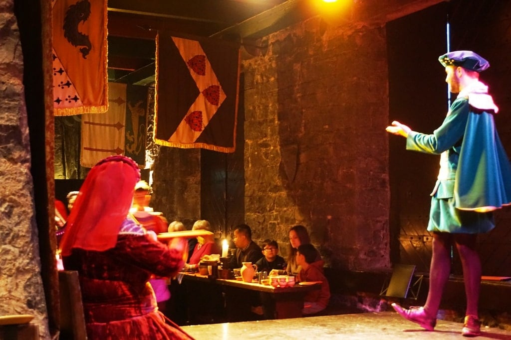 Knappogue Castle Banquet Show