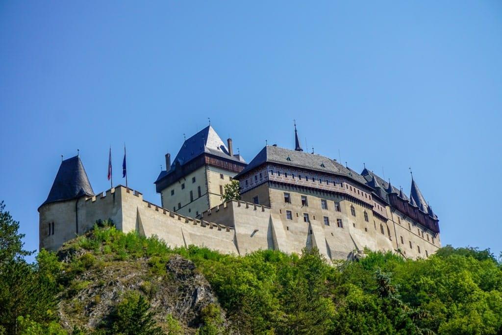 a guide to Karlštejn Castle