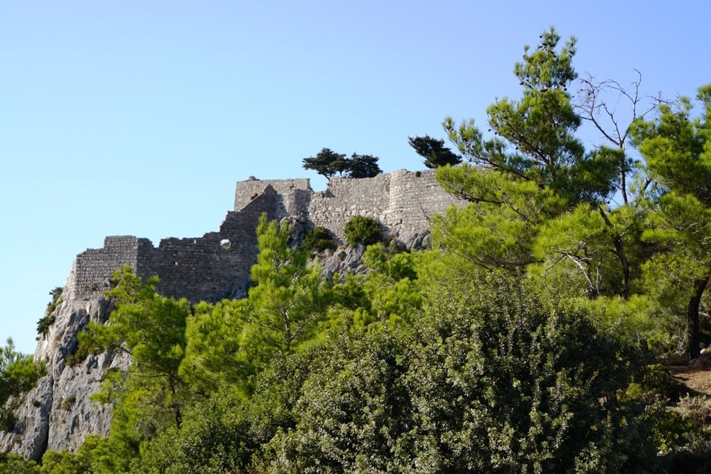 Monolithos Castle in Rhodes
